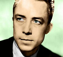 Albert Camus (Colorized) by taudalpoi