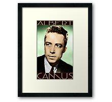 Albert Camus (Colorized) Framed Print