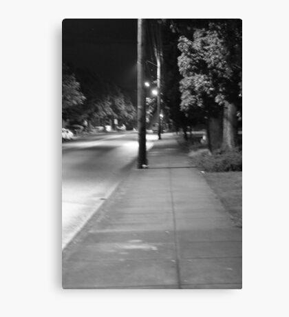 Dark Line Canvas Print