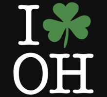 I Love (Shamrock) OH by saintpaddiesday