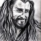 Richard Armitage - Thorin smiling by jos2507
