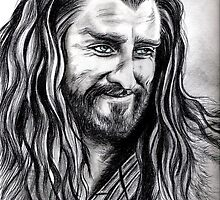 Richard Armitage - Thorin smiling by jos2507