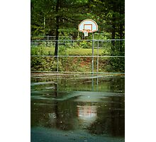 The Basket Ball Hoop Photographic Print