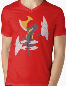 Bisharp (Simple) Mens V-Neck T-Shirt