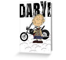 Daryl Dixon Pigpen (Peanuts) Character Greeting Card