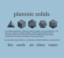 Platonic Solids by Aaran Bosansko