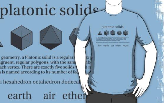 Platonic Solids by Aaran Bosansko