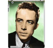 Albert Camus (Colorized) iPad Case/Skin