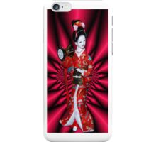 PORCELAIN GEISHA DOLL~日本製 MADE IN JAPAN日本製~IPHONE CASE iPhone Case/Skin