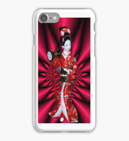 PORCELAIN GEISHA DOLL~日本製 MADE IN JAPAN日本製~IPHONE CASE iPhone Case/Skin