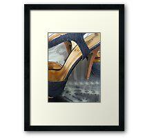 Bridge of heels Framed Print