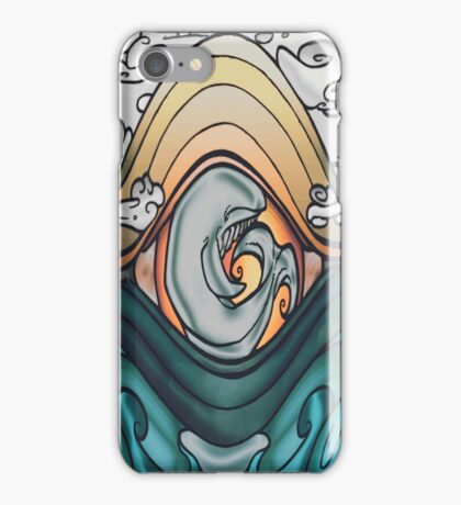 Whale of a tale iPhone Case/Skin