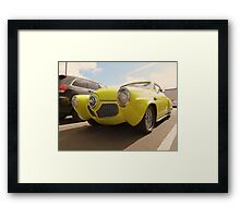 1950-51 Starlight Coupe Studebaker...Shilo Inn Parking Lot...Bend Oregon Framed Print