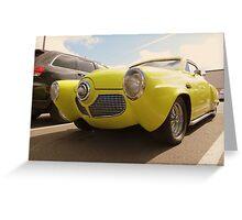 1950-51 Starlight Coupe Studebaker...Shilo Inn Parking Lot...Bend Oregon Greeting Card