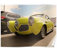 1950-51 Starlight Coupe Studebaker...Shilo Inn Parking Lot...Bend Oregon Poster