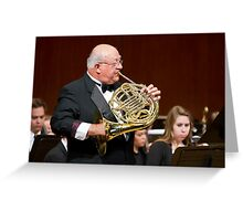 The Sounds of Cinema - Mr. Rick Lambrecht Greeting Card