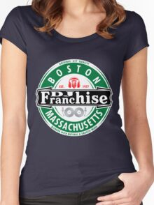 DJ Franchise Radio (WFRN) Women's Fitted Scoop T-Shirt