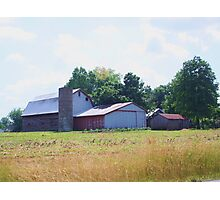 BARN OUTSIDE OF SELLERSBURG, INDIANA Photographic Print