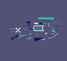Futuristic Imagination - Fish by UniqSchweick12