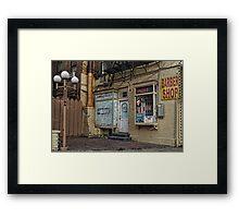 Seventh Avenue South, Manhattan Framed Print