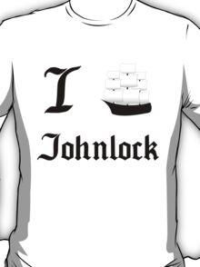 I Ship Johnlock T-Shirt