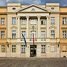 The Parliament of Croatia Facade by kirilart