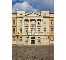 The Parliament of Croatia Facade Photographic Print