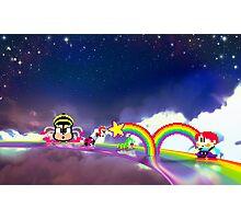 Rainbow Islands retro pixel art Photographic Print