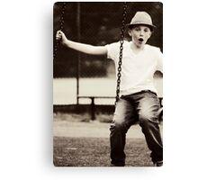 Swing It Canvas Print