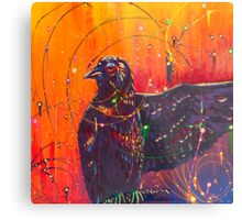 The Universal Crow Metal Print