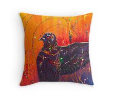 The Universal Crow Throw Pillow