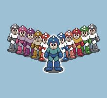 Mega Man - MegaV by xnmex