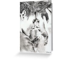 boy in love Greeting Card
