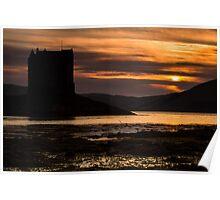 Castle Stalker - Highlands Scotland Poster