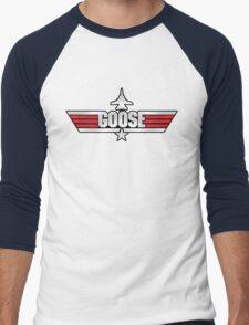 Custom Top Gun Style - Goose Men's Baseball ¾ T-Shirt