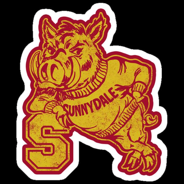 Sunnydale High - Sticker by CatchABrick