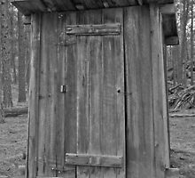 Meeker Ranch Outhouse  by Michael Miotke