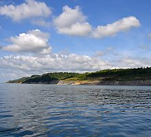 A Fine Day For Our Boat Trip  Around Lyme, Dorset UK by lynn carter