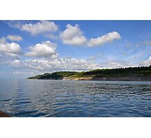 A Fine Day For Our Boat Trip  Around Lyme, Dorset UK Photographic Print