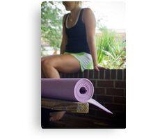 Yoga Girl Canvas Print