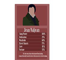 Jean Valjean  by ChristieRose