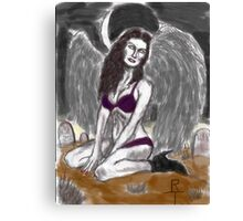 Lilith a succubus weeps 2 Canvas Print