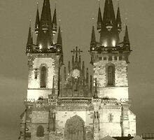 Prague by night by Smiffy1812