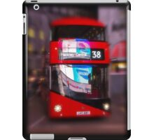 Big Red Bus iPad Case/Skin