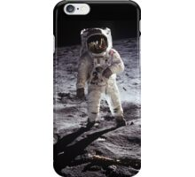 Man on the moon iPhone Case/Skin