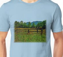 The Old Fence, The Ancient Mountains, and The Wild Field Unisex T-Shirt