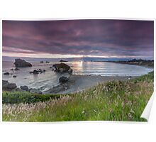 Sunset Crescent City Poster