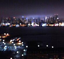 Skyline of NYC by shawnpau