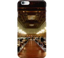 New York Public Library iPhone Case/Skin