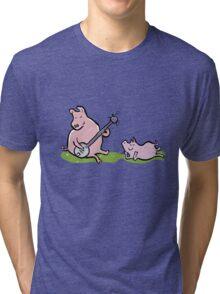 musical pigs Tri-blend T-Shirt